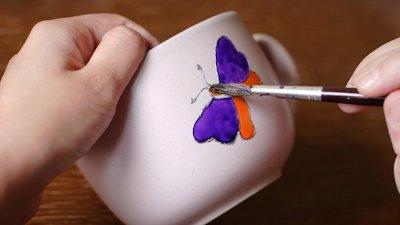 Pick a paint ceramic